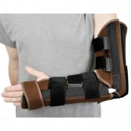 Attelle d'immobilisation du coude et du poignet