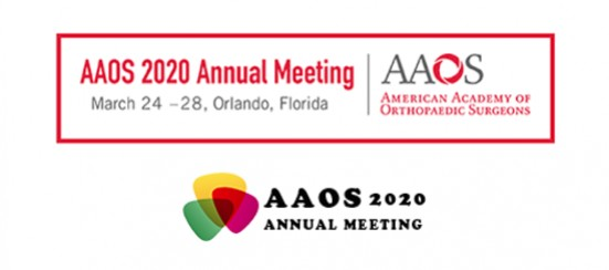 American Academy of Orthopaedic Surgeons Annual Meeting 2020
